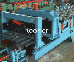Feeding Coil 1000mm Galvanized Metal Roofing Panel Machine