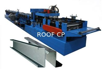 100-300 Mm C Z Purlin Forming Machine Of Galvanized Steel Strip Or Carbon Steel
