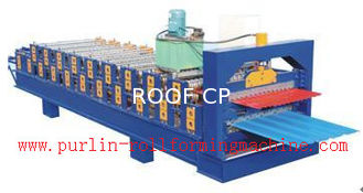 चीन Standing Seam Roof Panel Roll Forming Machine / Corrugated Rolling Forming Line आपूर्तिकर्ता