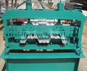 चीन Automated PLC Control  High Precision Steel Structure Floor Deck Roll Forming Machine For Metal Decking Sheet distributor