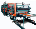 चीन Double Belt PU Sandwich Panel Making Machine Automatic For Roof Wall Panel distributor