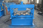 चीन Galvanized Steel Floor Deck Roll Forming Machine With Coiler Car ,  Floor Tile Making Machine distributor
