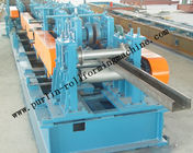 सबसे अच्छा Automatic C / Z Purlin Roll Forming Machine Interchangeable For Steel Frame for sale
