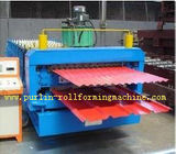 चीन Corrugated Roof Tile Roll Forming Machine Double Layer 0.3mm - 0.8mm for Colored Steel Tiles distributor