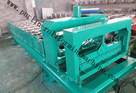 चीन Chain Driven Cold Steel Sheet Roller Machine Corrugated Double Layer PLC distributor
