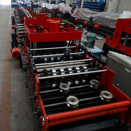 चीन 15KW Z Purlin Roll Forming Machine With Hydraulic / Manual Decoileron sales