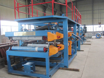 चीन 1250mm Width EPS Sandwich Panel Roll Forming Machine 28Kw for Warehouse​ वितरक