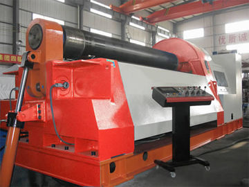 चीन 4 Rollers CNC Hydraulic Rolling Machine Prebend Ends of Steel Plate for Getting Best Jointson sales